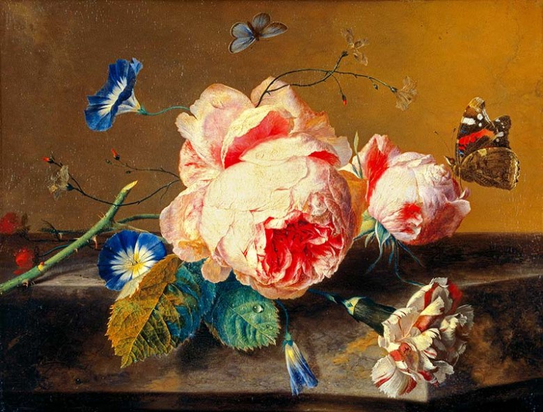 Flower_Still_Life_by_Jan_van_Huijsum