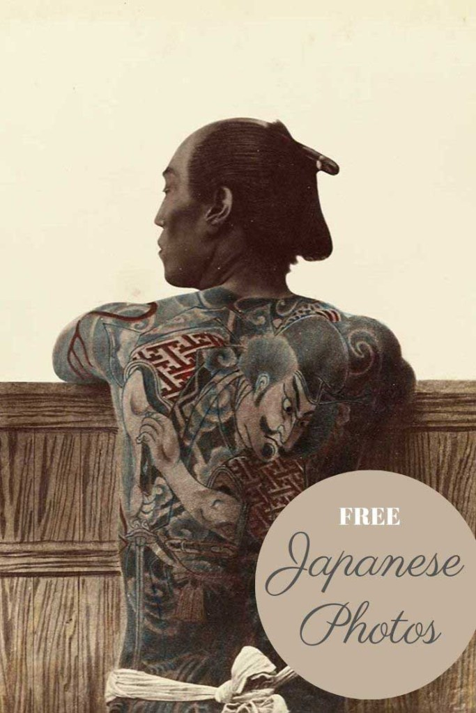 Kusakabe Kimbei tattoo man