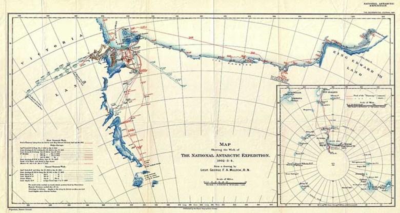 South Pole Map