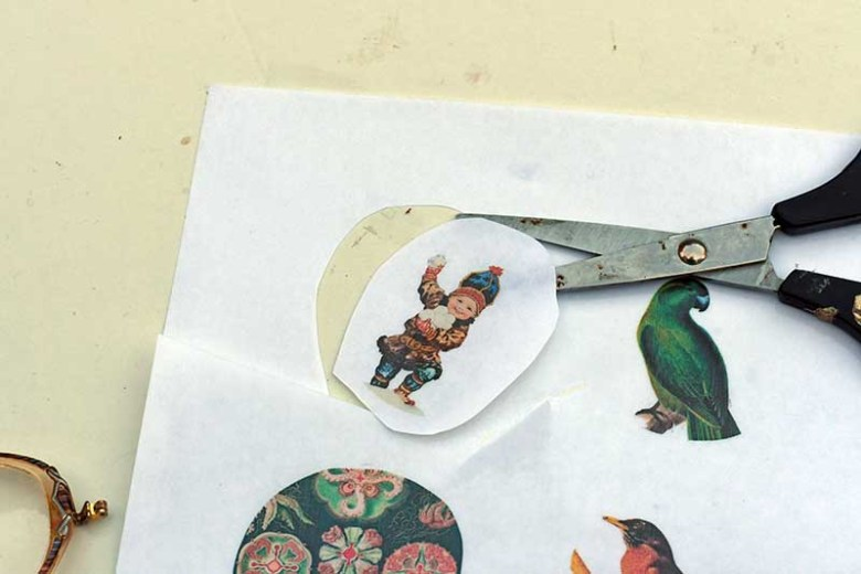 cutting decal paper