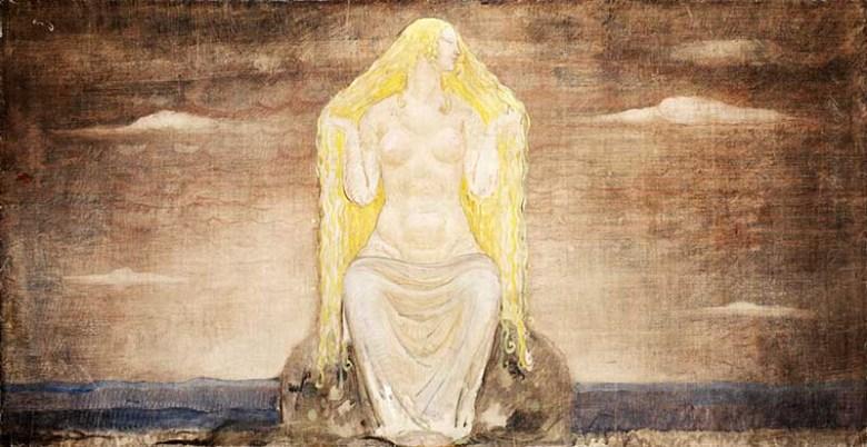 Freyja by Bauer 1905