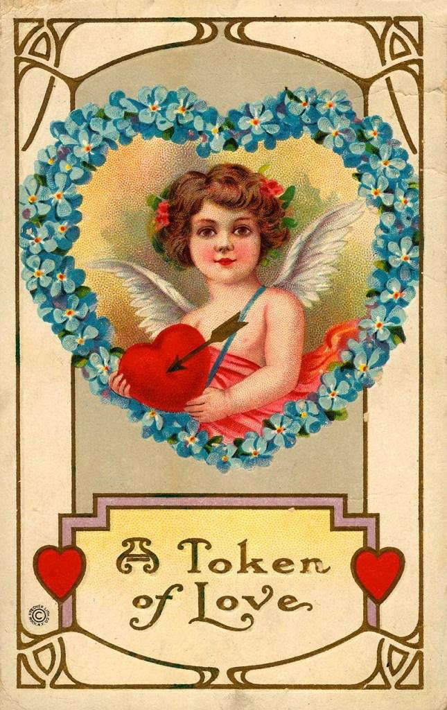 vintage happy Valentine's day images