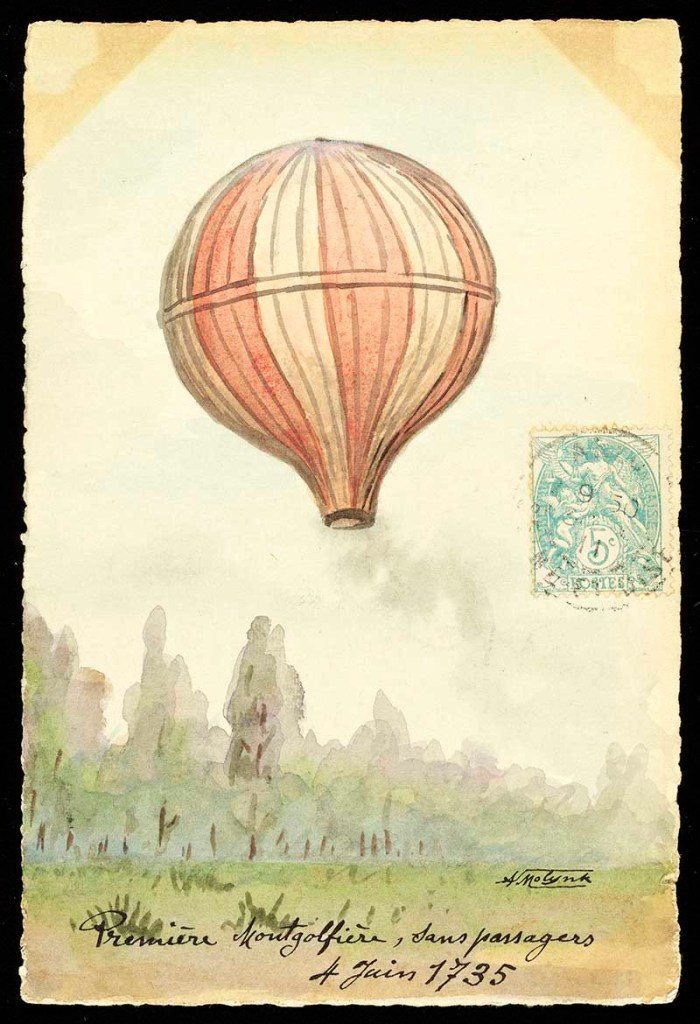 first hot air balloon