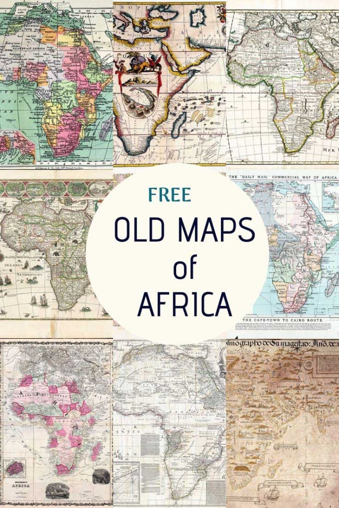 Free old maps of Africa