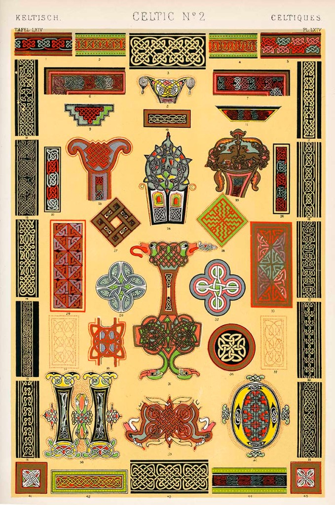 Owen Jones Grammar of Ornament Celtic No 2