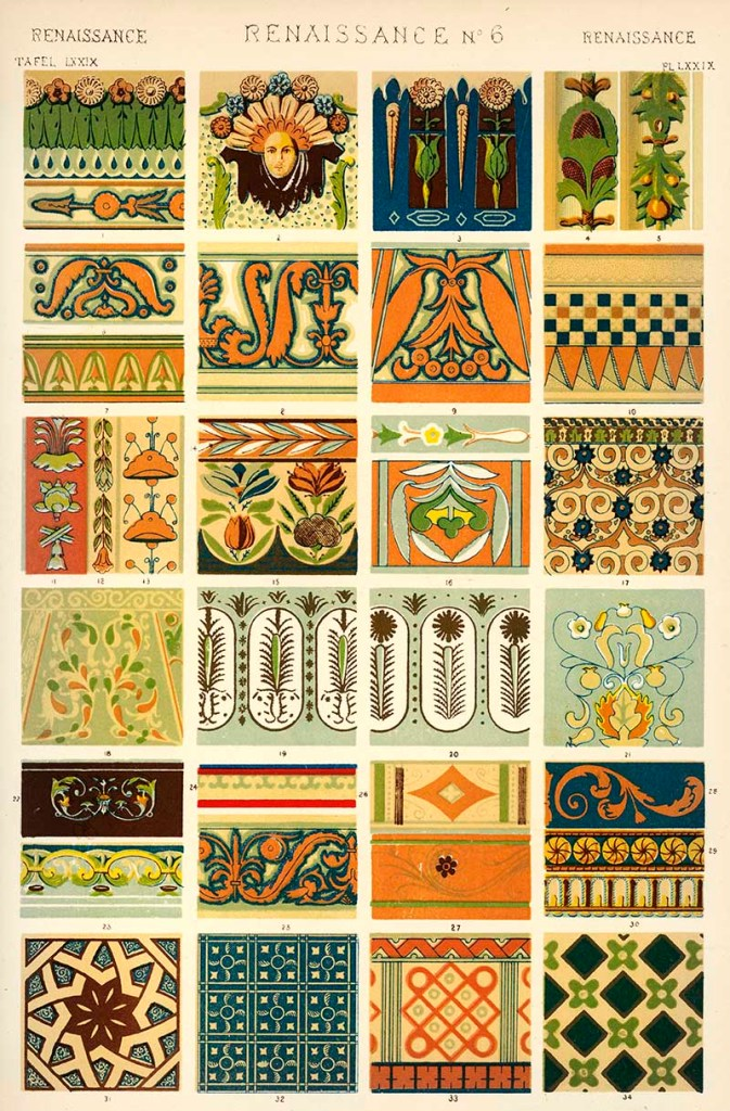 Owen Jones Grammar of Ornament Renaissance No 6