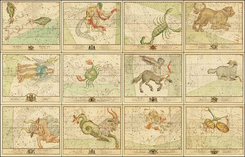 All Zodiac Charts of john Bevis