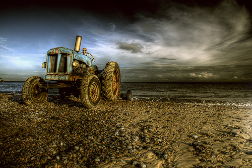 """Cromer tractor"" captured by Sean Nel"