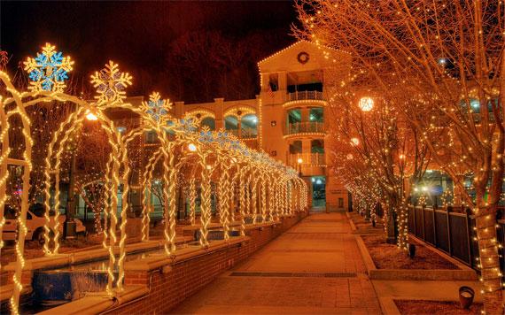 iso settings for christmas lights
