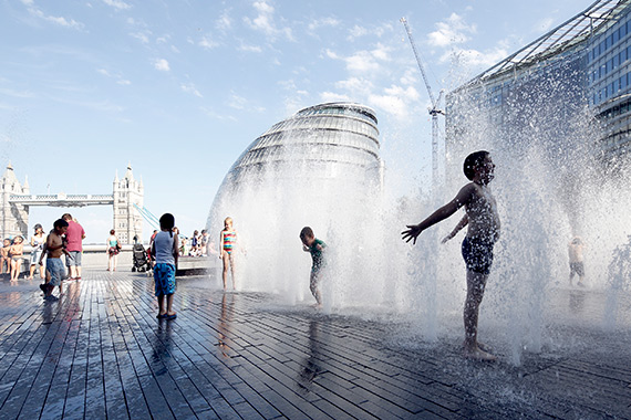 """Summer In London"" captured by Jirina Kantova. (Click image to see more from Jirina Kantova.)"