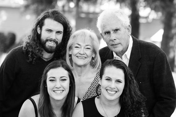 family photo pose