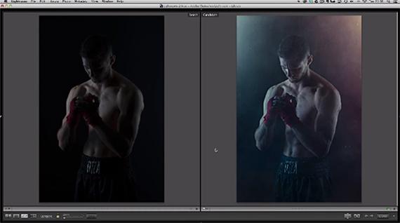 photoshop lighting exposure