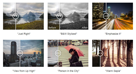 1-Click Lightroom presets designed specifically for landscape & cityscape photography included (Click to See Larger)