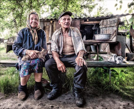 portrait of Ukrainian couple