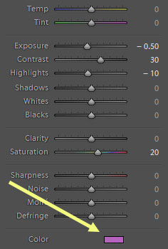 lightroom tools for better sunset photos
