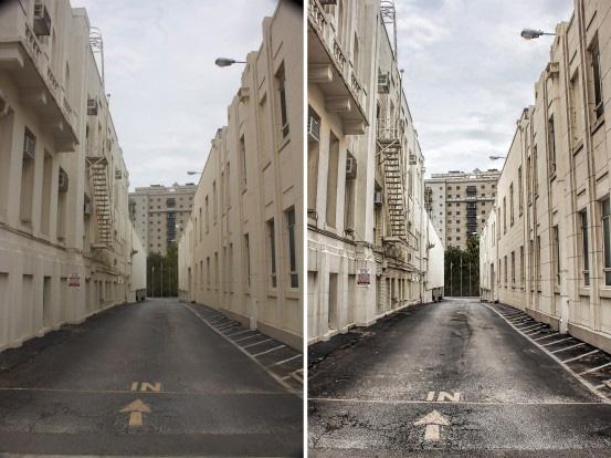 postprocessing urban scenes