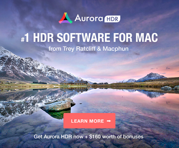 New! Aurora HDR for Mac (Click to See How it Works)