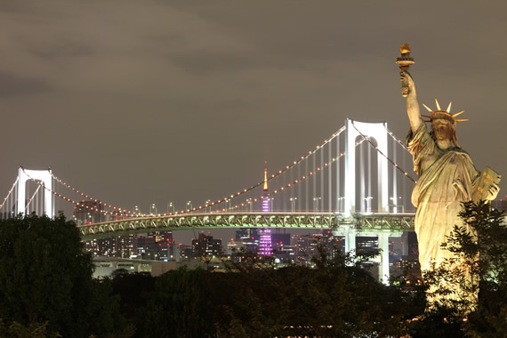 urban landscape photography at night