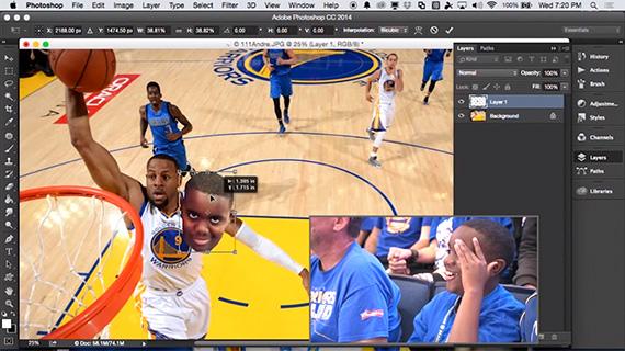 Adobe Photoshop Fan Cam