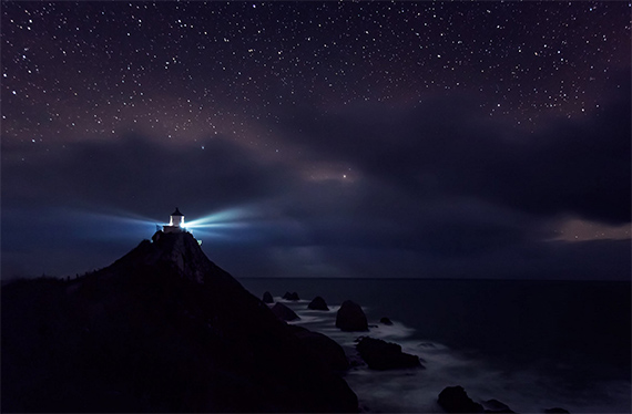 lighthouse astro photo