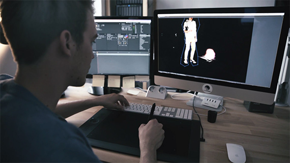 Holopainting editing technique