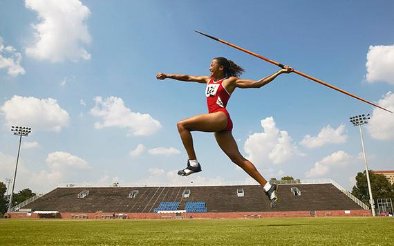 athlete peak performance photography