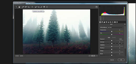 post-processing fog photography tutorial
