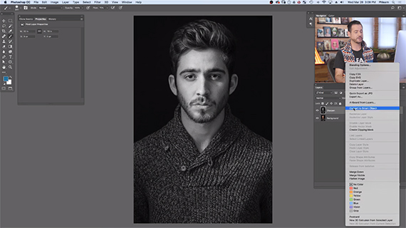 how to sharpen portraits