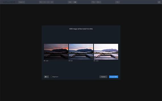 aurora hdr screenshot