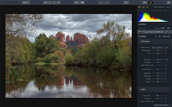 how to use aurora hdr presets