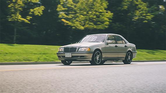 car photography panning