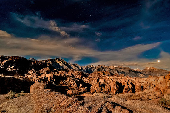 alabama hills night photography