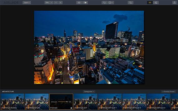 cityscape preset