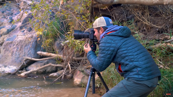 tripod for blurry water photography