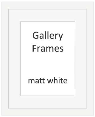 A2 White Picture Frame Amtframe