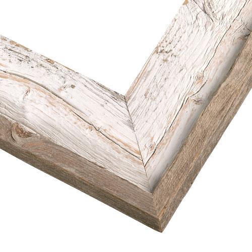 whitewashed barnwood picture frame