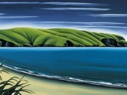 Coastal Breeze Le Bons Bay by Diana Adams