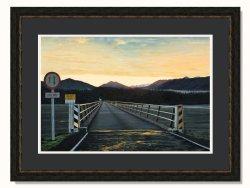 Haast West Coast Sunrise Ltd Edition Framed Print by Grant McSherry
