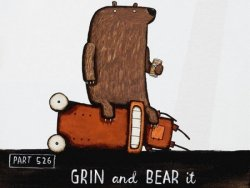 Grin & Bear It by Tony Cribb