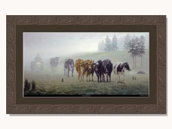 Morning Drove by Barry Ross Smith Framed Print