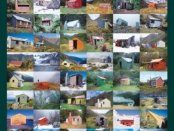 Tramping Huts Paper Print by Rob Brown & Shaun Barrett