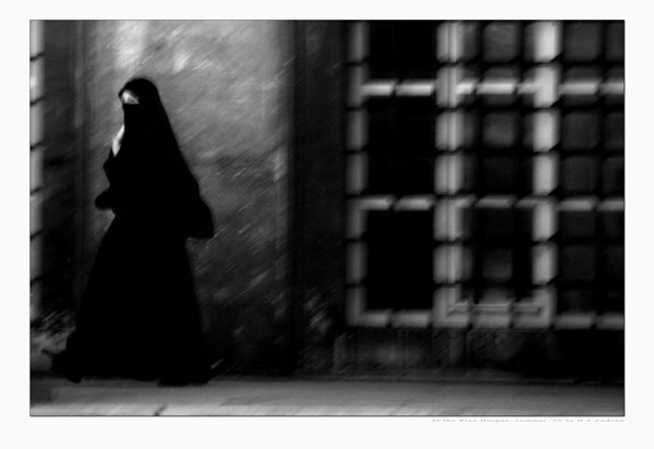 Woman at mosque