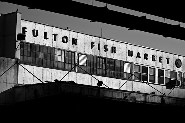 Fulton Fish Market, New York