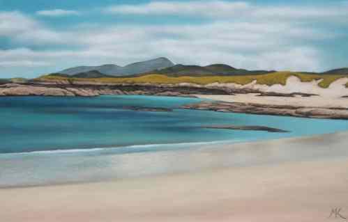 Hebridean Beach (sold) - Scotland Landscape Painting