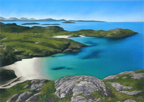 Achmelvich in Summer - Scotland Landscape Painting