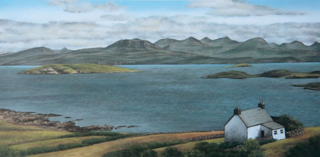 Harry's House - Scotland Landscape Painting
