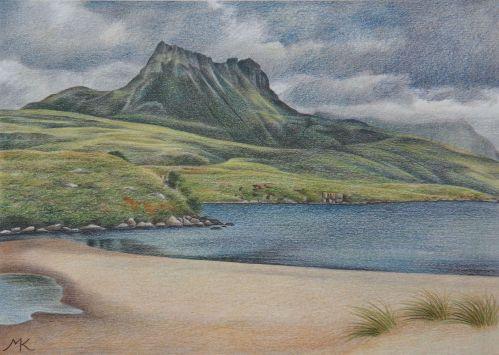 Stac Pollaidh - Scotland Landscape Painting