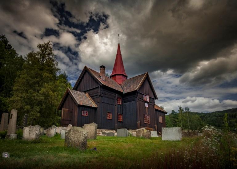Rollag Stabkirche