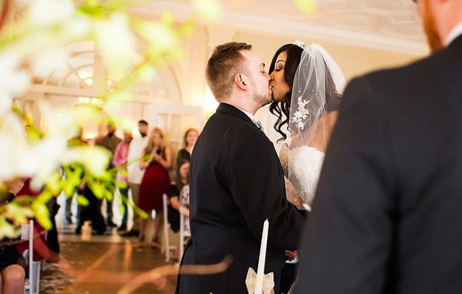Shanice + Ronnie | Tulsa Garden Center Wedding