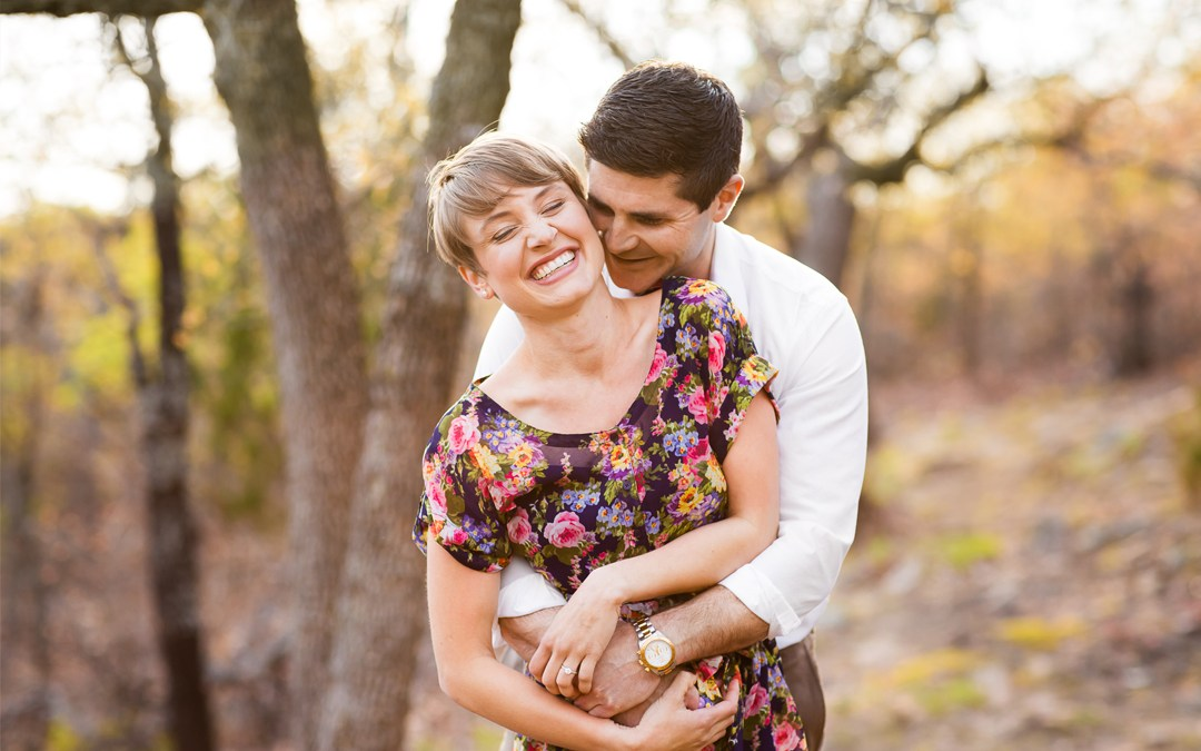 Blair + Andrew | Picturesque Studios Engagement | Tulsa, Oklahoma